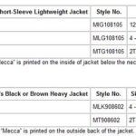 Recall — Mecca Children's Hooded Jackets with Drawstrings
