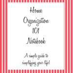 Home Organization Binder 101 Review & Giveaway [ENDED]