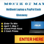 The Month of May Giveaway!