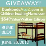 The Walker Edison Bunk Bed Giveaway Event [ENDED]