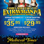 Family New Years Eve Extravaganza @ Medieval Times Dallas