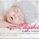 Coupon – Get 15% Off Birth Announcements Order of $75+ @ Tiny Prints