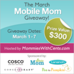 March Mobile Mom Giveaway