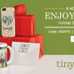 Coupon — 35% Off Gifts + $9.95 Express Shipping @ Tiny Prints (TONIGHT ONLY)