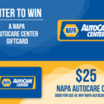 $25 NAPA Cash Card Giveaway [ENDED]
