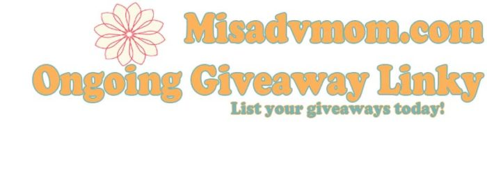Ongoing Giveaway Linky