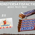 #MONSTERSATISFACTION Movie Prize Pack Giveaway [ENDED]