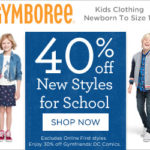 COUPON – 40% OFF New School Styles & Up to 75% OFF Markdowns @ Gymboree