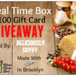 Blogger Opp ~ Meal Time Box Giveaway ($100 Value)