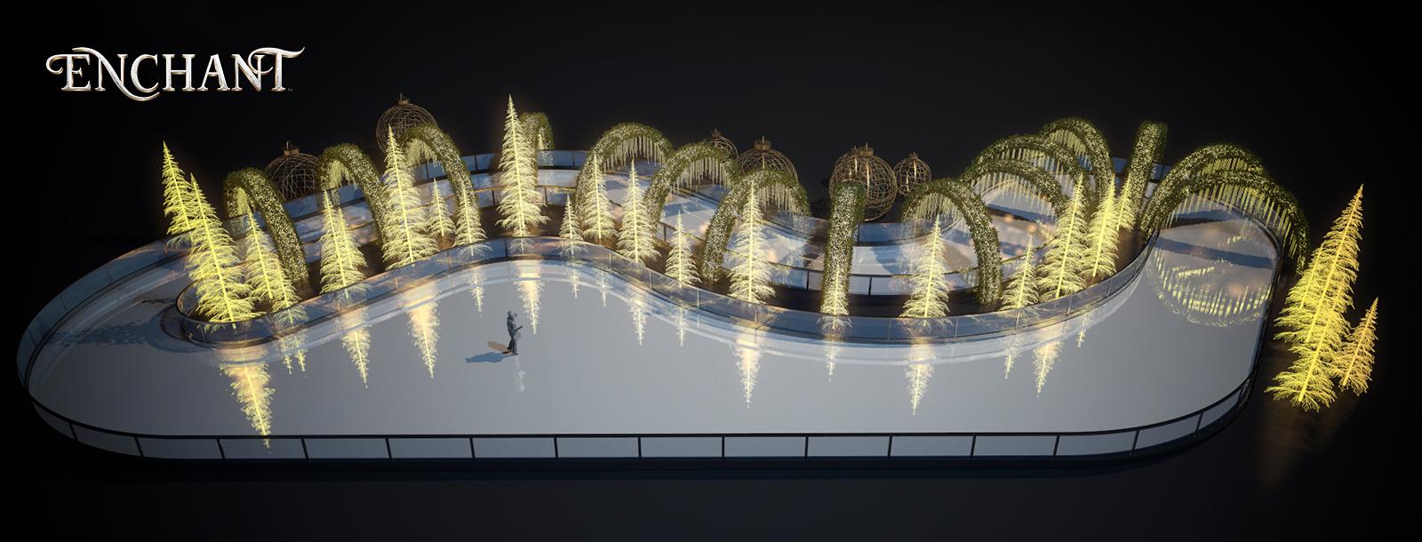 Enchant Christmas.Enchant Christmas New Ice Skating Trail For 2018