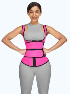 Double Belts Sticker Vest Shaper